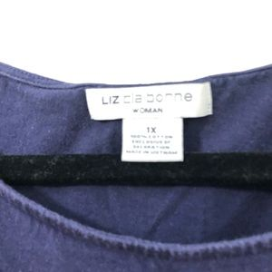 Blue sequence blouse